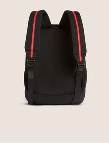 ARMANI EXCHANGE LOGO ZIPPER PULL SOFT MESH BACKPACK Backpack [*** pickupInStoreShipping_info ***] d