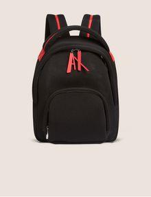 ARMANI EXCHANGE LOGO ZIPPER PULL SOFT MESH BACKPACK Backpack [*** pickupInStoreShipping_info ***] f