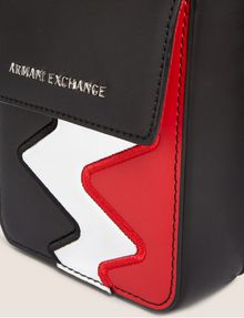 ARMANI EXCHANGE ZIGZAG CELL PHONE CROSSBODY Crossbody bag [*** pickupInStoreShipping_info ***] a