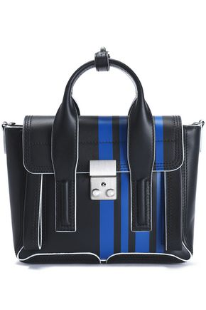3.1 PHILLIP LIM Pashli striped leather shoulder bag
