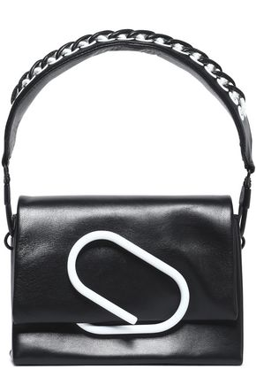 3.1 PHILLIP LIM Chain-trimmed leather shoulder bag