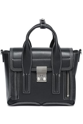 3.1 PHILLIP LIM Embroidered leather shoulder bag