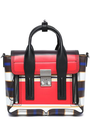 3.1 PHILLIP LIM Pashli mini striped leather shoulder bag