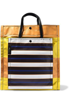 3.1 PHILLIP LIM Accordion Shopper striped leather tote