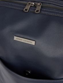ARMANI EXCHANGE CLEAN FRONT LOGO PLATE BACKPACK Backpack [*** pickupInStoreShippingNotGuaranteed_info ***] a