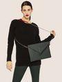 ARMANI EXCHANGE ASYMMETRICAL ENVELOPE CROSSBODY CLUCH Crossbody bag [*** pickupInStoreShipping_info ***] r