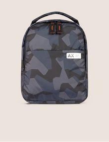 ARMANI EXCHANGE GEO CAMO PADDED BACKPACK Backpack Man f