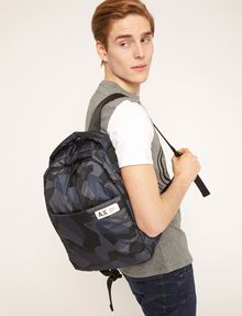 ARMANI EXCHANGE GEO CAMO PADDED BACKPACK Backpack Man r