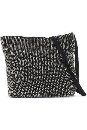 ANN DEMEULEMEESTER Beaded woven shoulder bag