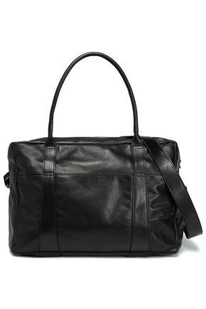 ANN DEMEULEMEESTER Leather weekend bag