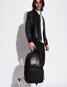 ARMANI EXCHANGE CLASSIC MINIMALIST LOGO BACKPACK Backpack Man r