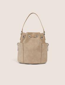 ARMANI EXCHANGE STRIPED STRAP BUCKET BAG Bucket Bag [*** pickupInStoreShipping_info ***] d