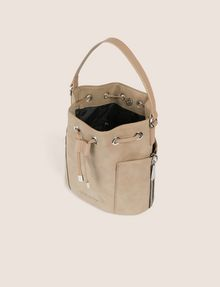 ARMANI EXCHANGE STRIPED STRAP BUCKET BAG Bucket Bag [*** pickupInStoreShipping_info ***] e