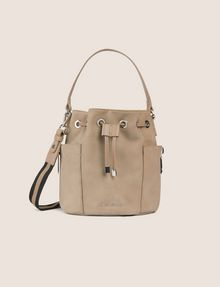 ARMANI EXCHANGE STRIPED STRAP BUCKET BAG Bucket Bag [*** pickupInStoreShipping_info ***] f
