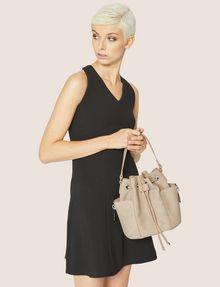 ARMANI EXCHANGE STRIPED STRAP BUCKET BAG Bucket Bag [*** pickupInStoreShipping_info ***] r