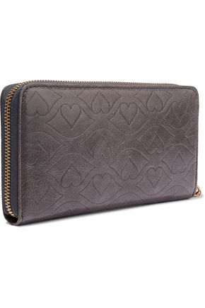 SEE BY CHLOÉ Embossed leather wallet