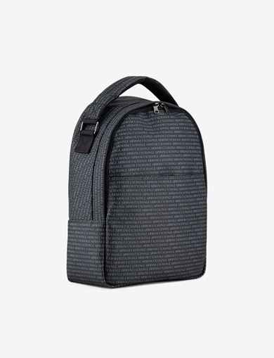 ALLOVER LOGO PRINT BACKPACK