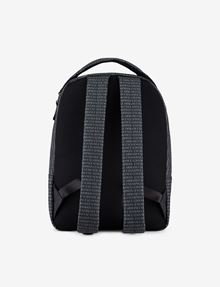 ARMANI EXCHANGE ALLOVER LOGO PRINT BACKPACK Backpack [*** pickupInStoreShippingNotGuaranteed_info ***] d