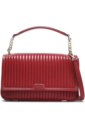 DKNY Quilted leather shoulder bag