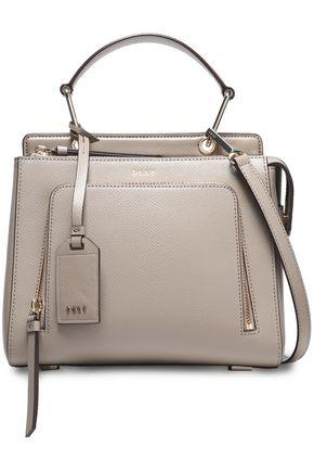 DKNY Textured-leather shoulder bag