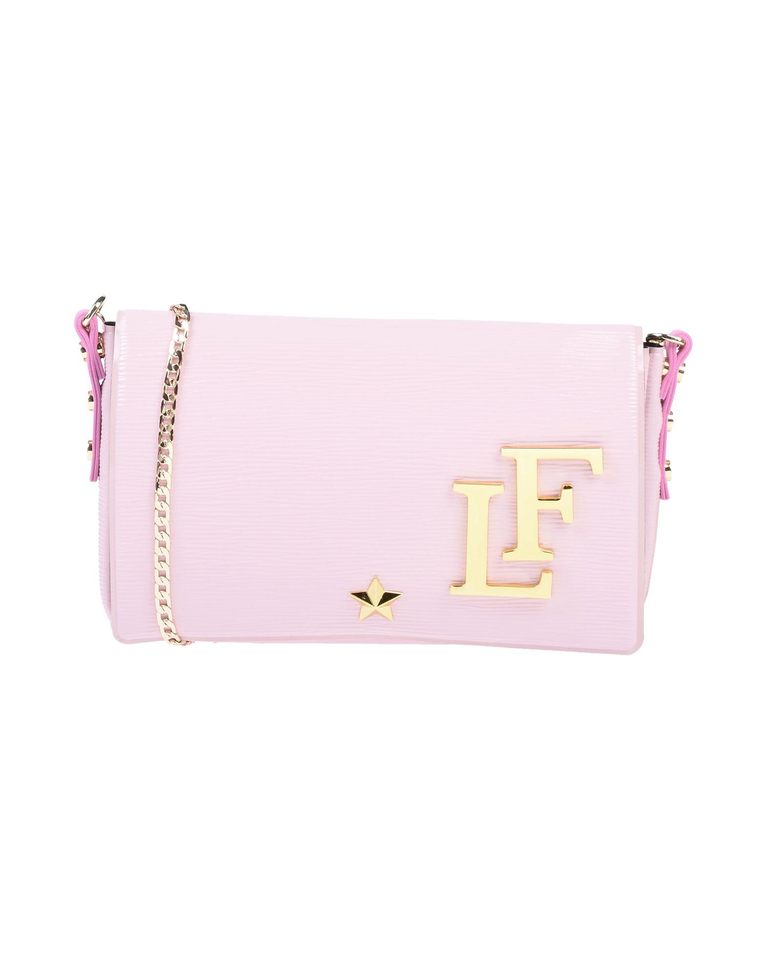 《送料無料》LA FILLE des FLEURS レディース ハンドバッグ ピンク 紡績繊維