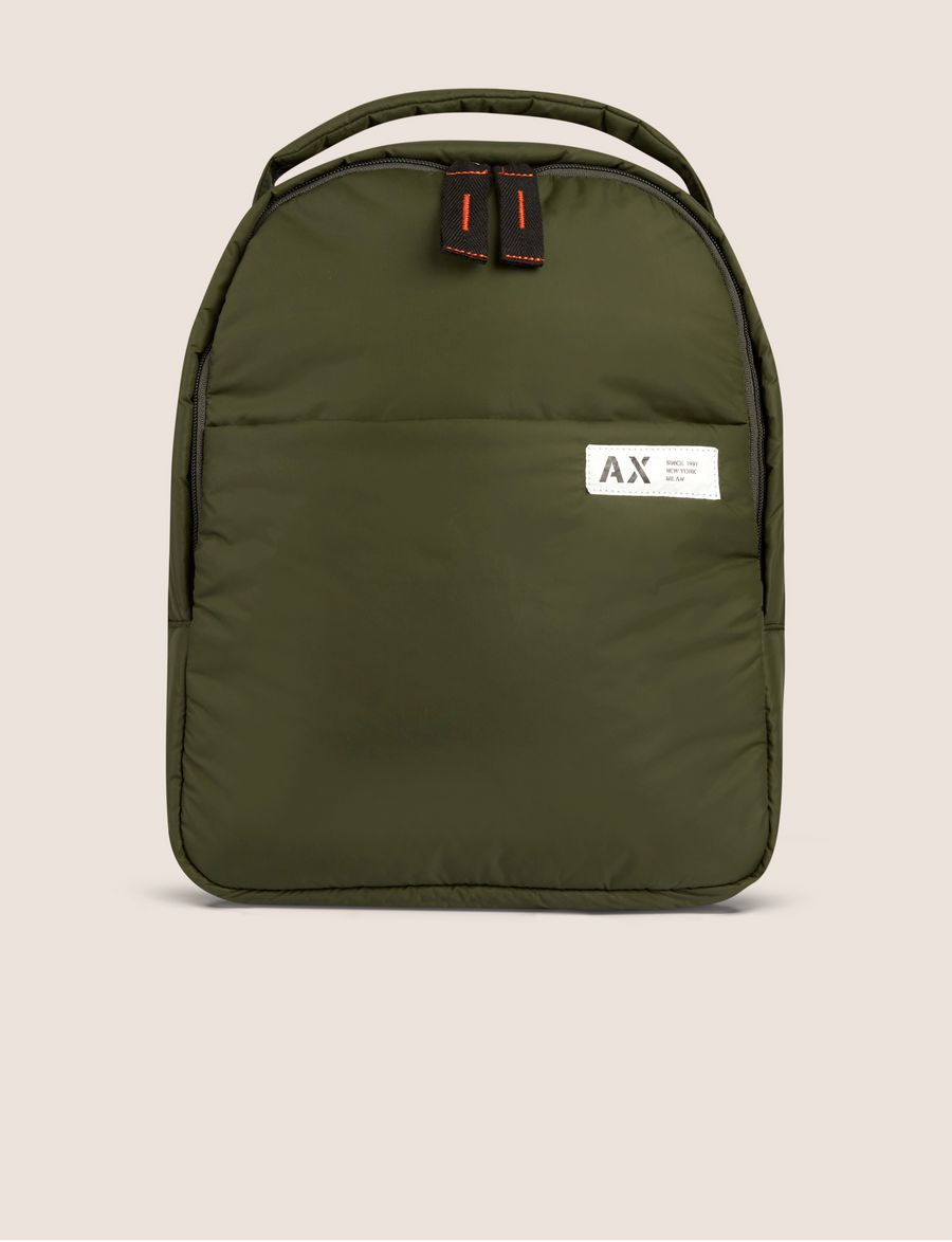 8e66a1e73a0 Armani Exchange STANDARD ISSUE PUFFY BACKPACK , Backpack for Men   A X  Online Store