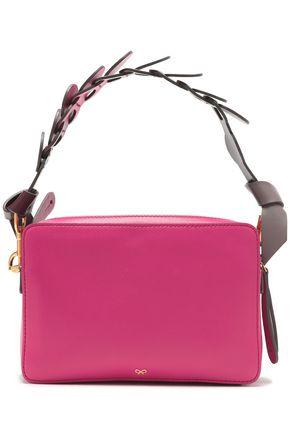 ANYA HINDMARCH Color-block leather shoulder bag