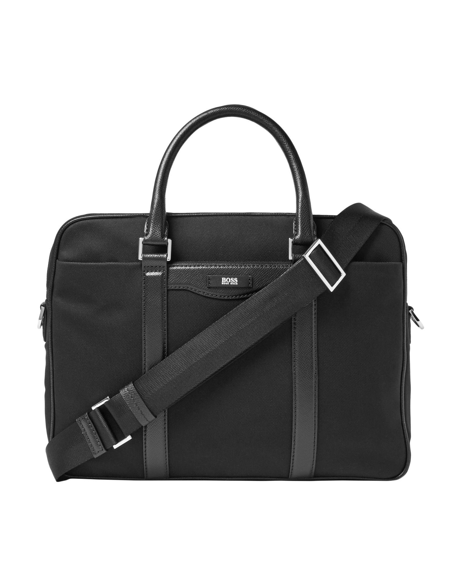 купить BOSS HUGO BOSS Деловые сумки по цене 17500 рублей