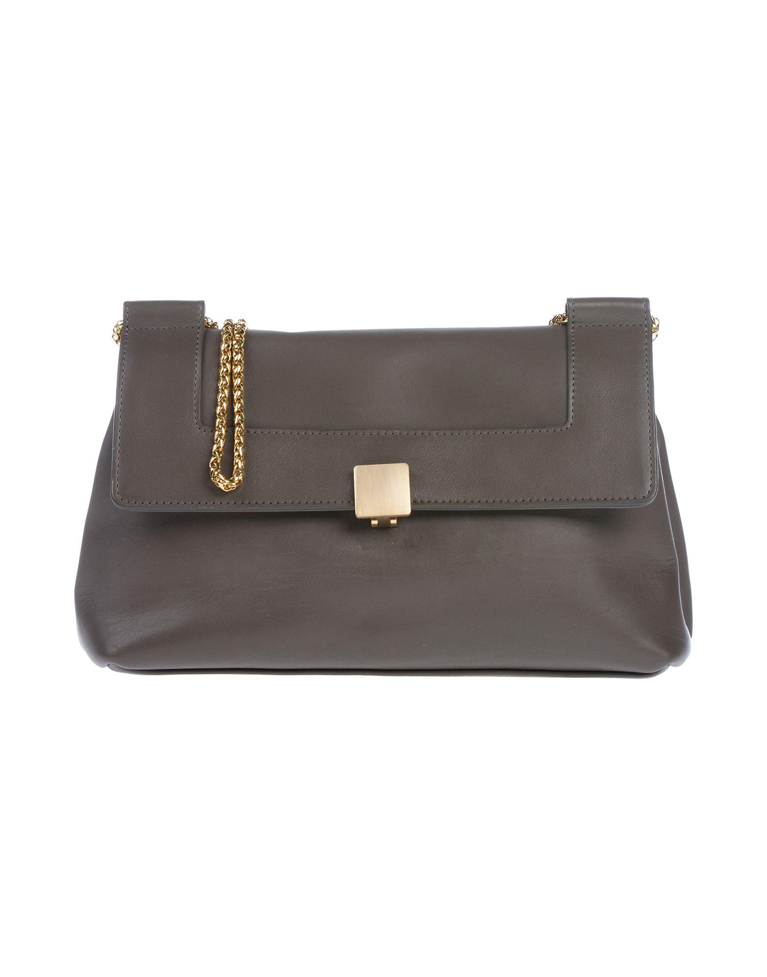 AVRIL GAU Handbags in Lead