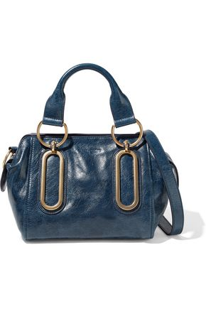 SEE BY CHLOÉ Paige small washed-leather shoulder bag