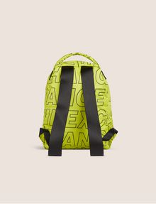 ARMANI EXCHANGE ALLOVER LOGO PUFFY BACKPACK Backpack [*** pickupInStoreShippingNotGuaranteed_info ***] d
