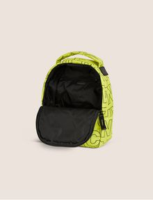 ARMANI EXCHANGE ALLOVER LOGO PUFFY BACKPACK Backpack [*** pickupInStoreShippingNotGuaranteed_info ***] e