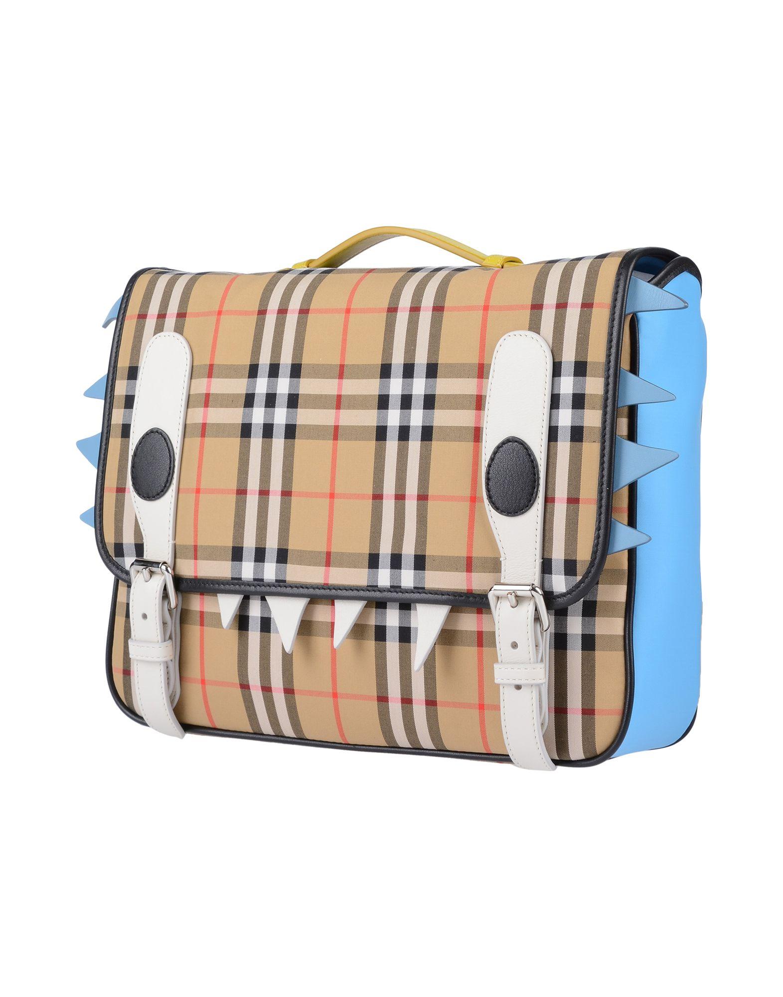 BURBERRY Рюкзаки и сумки на пояс новые мужские кожаные рюкзаки мягкие рюкзаки бизнес daypack рюкзак сумки