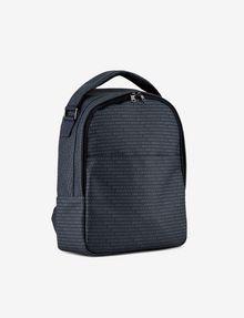 ARMANI EXCHANGE ALLOVER LOGO PRINT BACKPACK Backpack [*** pickupInStoreShippingNotGuaranteed_info ***] d
