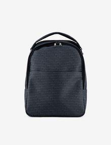 ARMANI EXCHANGE ALLOVER LOGO PRINT BACKPACK Backpack [*** pickupInStoreShippingNotGuaranteed_info ***] f