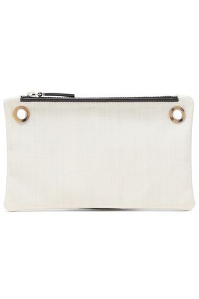 THE ROW Canvas clutch