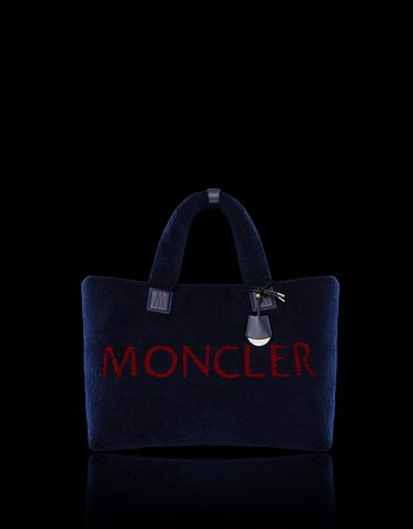 MONCLER POWDER TOTE - Medium leather bags - women