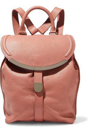 SEE BY CHLOÉ Lizzie pebbled-leather backpack