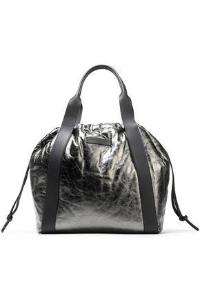 BRUNELLO CUCINELLI Metallic leather tote