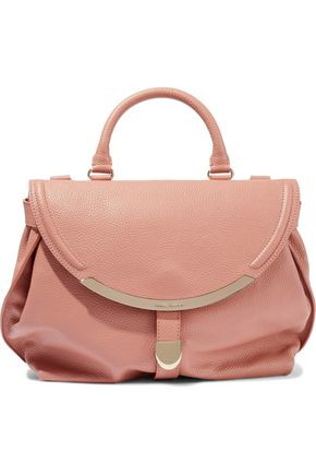 SEE BY CHLOÉ Lizzie pebbled-leather shoulder bag