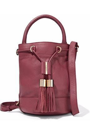 SEE BY CHLOÉ Vicki pebbled-leather bucket bag