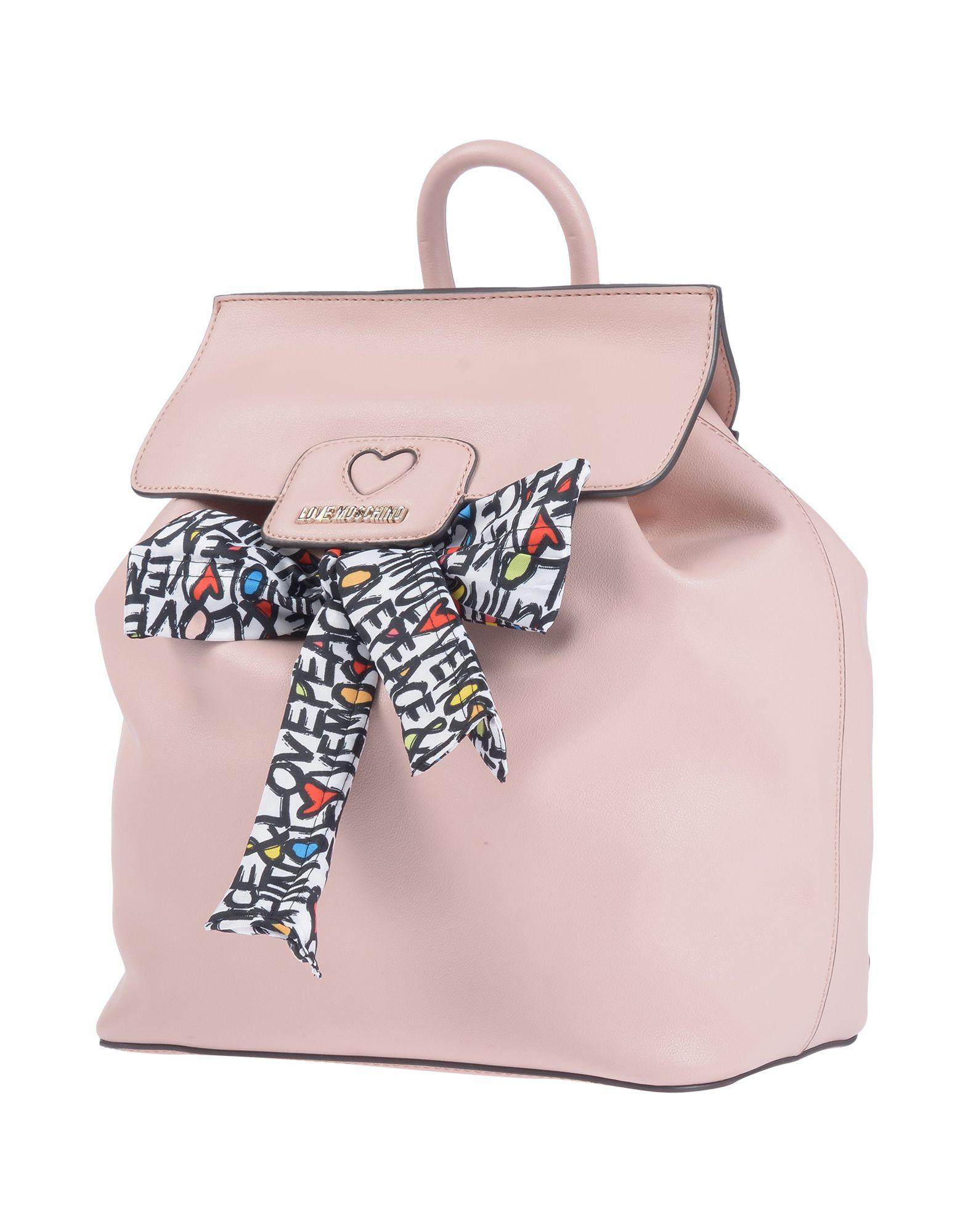 LOVE MOSCHINO Рюкзаки и сумки на пояс мужские сумки