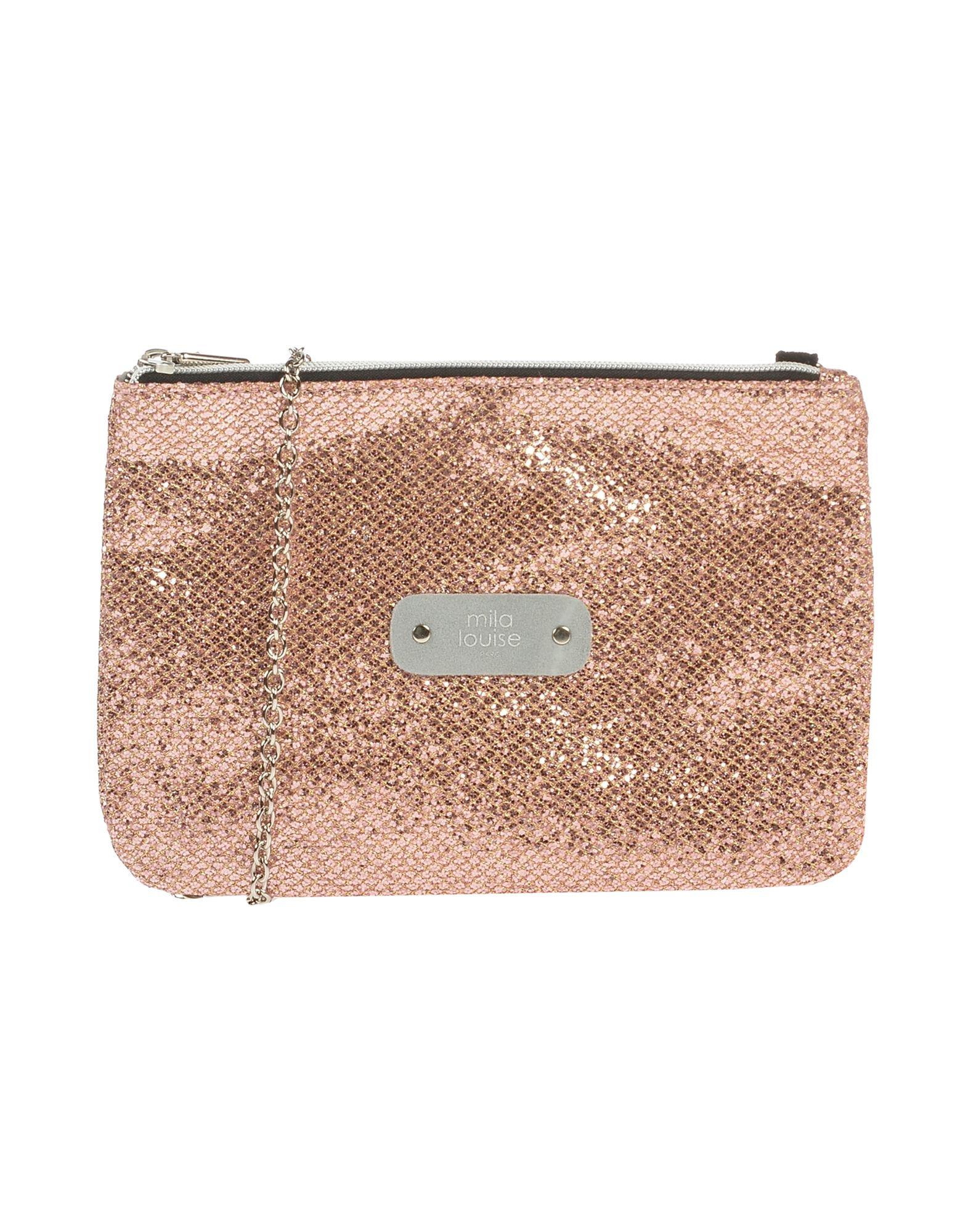 《送料無料》MILA LOUISE レディース ハンドバッグ ピンク ポリエステル