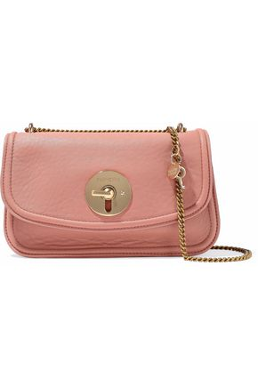 SEE BY CHLOÉ Lois textured-leather shoulder bag