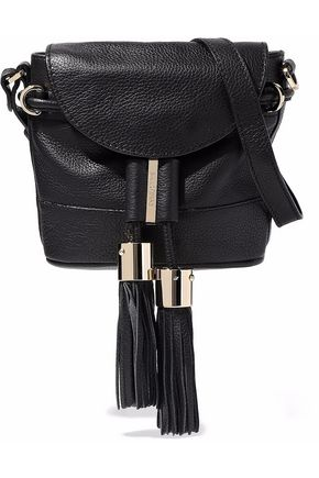 SEE BY CHLOÉ Vicki mini pebbled-leather shoulder bag