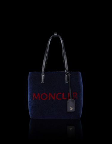 MONCLER ASPEN - Medium leather bags - women