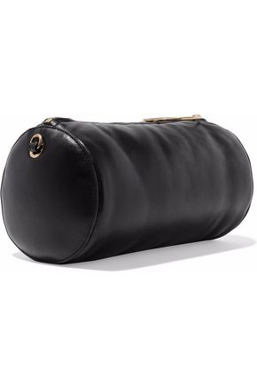 STELLA McCARTNEY Puffer mini faux leather shoulder bag