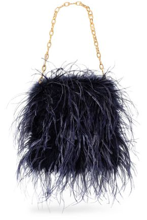 TORY BURCH Feather clutch