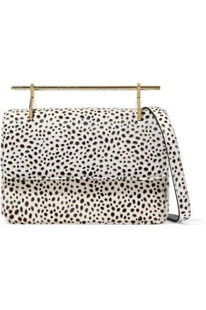 M2MALLETIER Printed calf hair shoulder bag