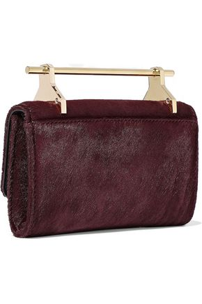 M2MALLETIER Metallic leather shoulder bag